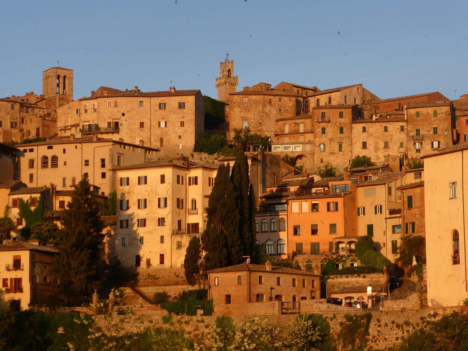 Montepulciano in the early morning